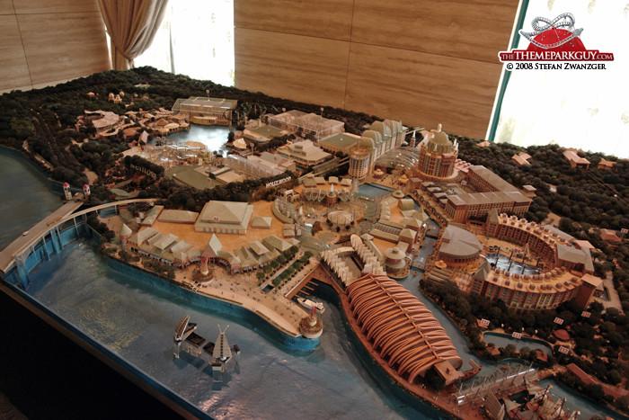 Resorts World Sentosa model
