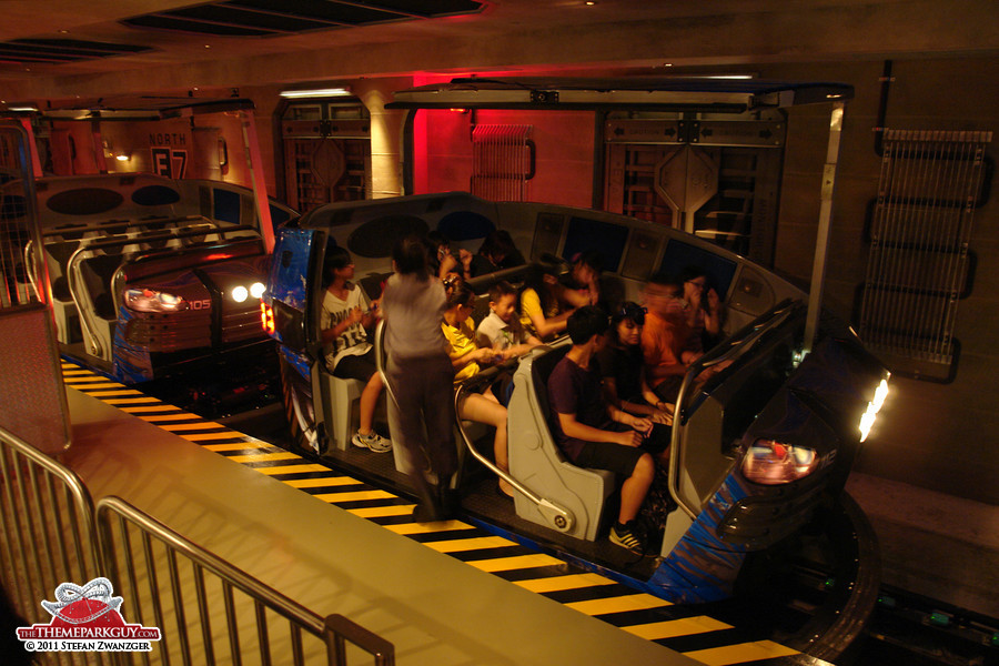Transformers ride vehicles