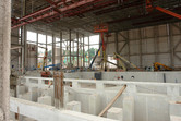 SFX theater under construction