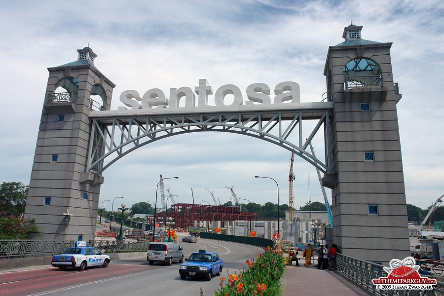 Sentosa island entrance
