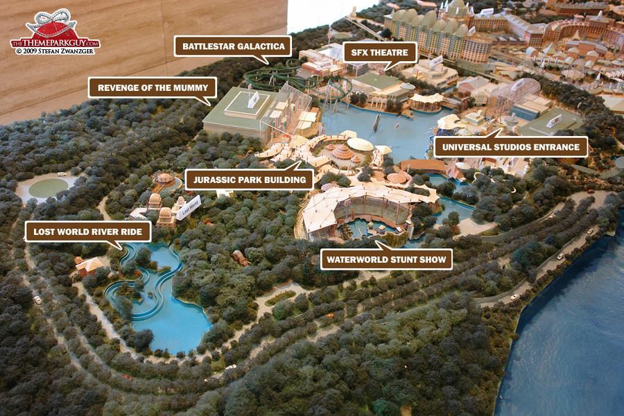 Universal Studios Singapore model