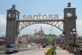 Sentosa with Shrek castle