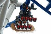 Battlestar coaster close-up