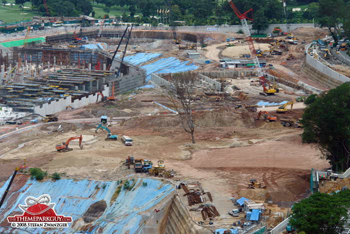 Universal Studios Singapore site
