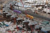 Monorail passing through the future Resorts World