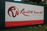 Resorts World Sentosa billboard