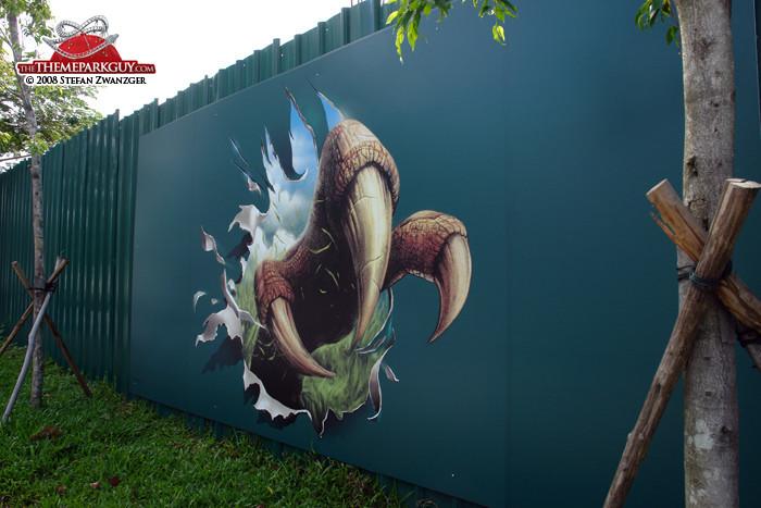 Jurassic billboard