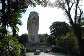 Singapore's landmark, the Merlion, on Sentosa island