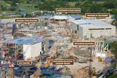 Universal Studios Singapore construction details