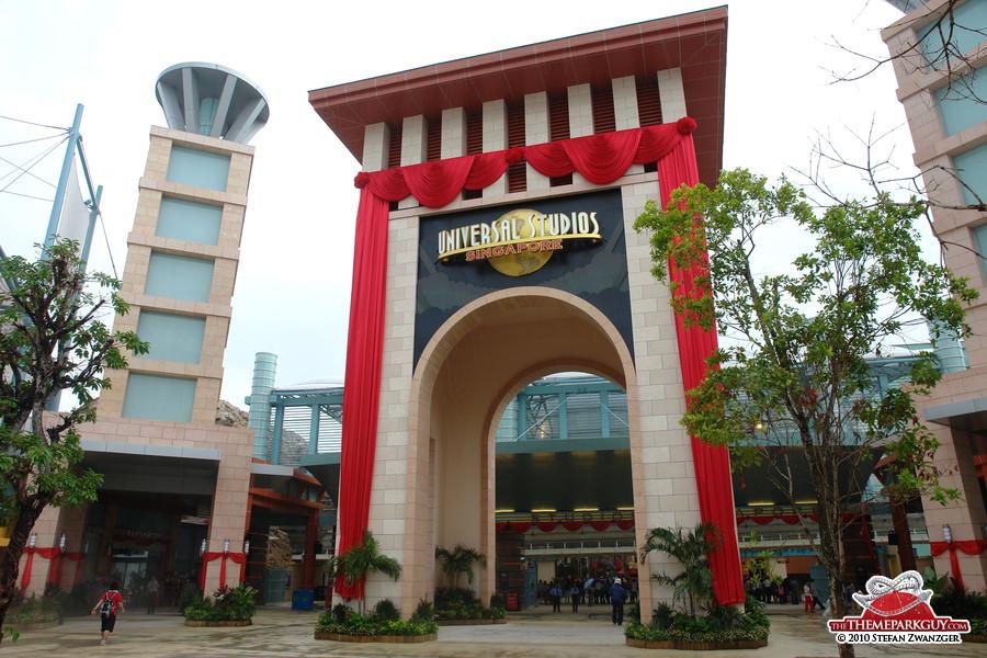 Universal Studios Singapore gate