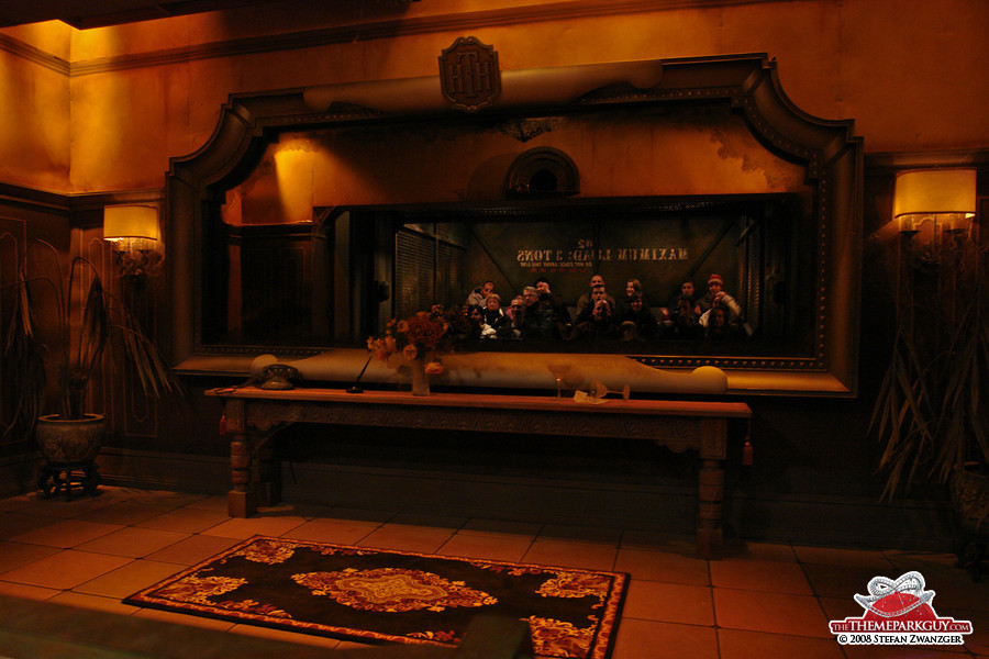 Inside the Tower of Terror