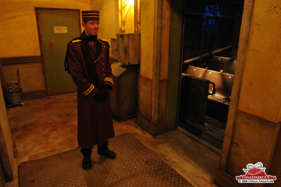 Tower of Terror employee