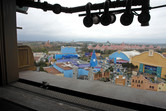 Walt Disney Studios view from the top...