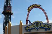 Drop tower and Superman coaster fighting for attention