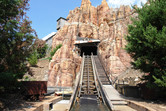 Entering the Wild West Falls mountain