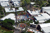 Warner Brothers Movie World major coasters