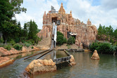 Wild West Falls flume ride