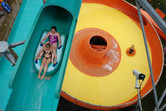 Slide fun on different levels