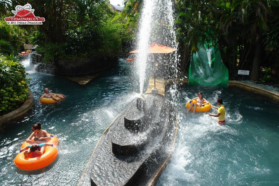 Waterbom Bali has good atmosphere