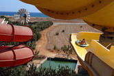 Water slides with Cypriot background