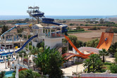 WaterWorld Waterpark is located in eastern Cyprus