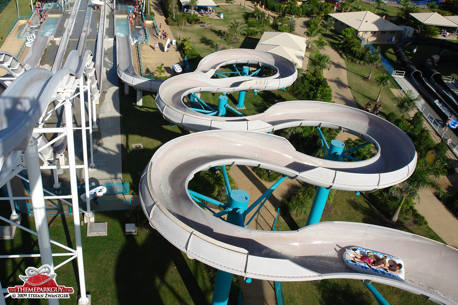 It's a great water park!
