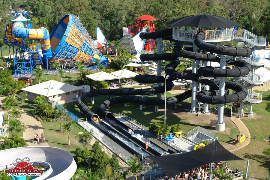 Wet'n'Wild Water World thrill slide collection