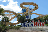 Wet'n Wild logo displayed on International Drive