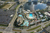 Wet'n Wild on International Drive, across the highway from Universal Studios