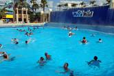 Harmless wave pool