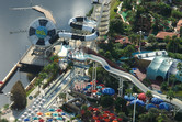 Wet'n Wild seen from the helicopter