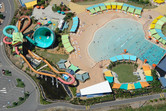 WhiteWater World from above