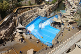 Surf pool from above