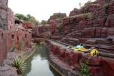 Canyon flume ride