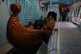 Indoor roller coaster Atlantis