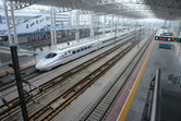 Chinese high-speed train that brings you from Shanghai to Changzhou