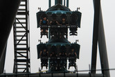 A flying roller coaster
