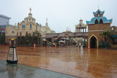 The entrance very much resembles Universal's Islands of Adventure
