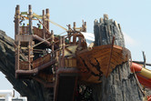 At the top of Yas Waterworld