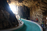 Now that is a lazy river cave!