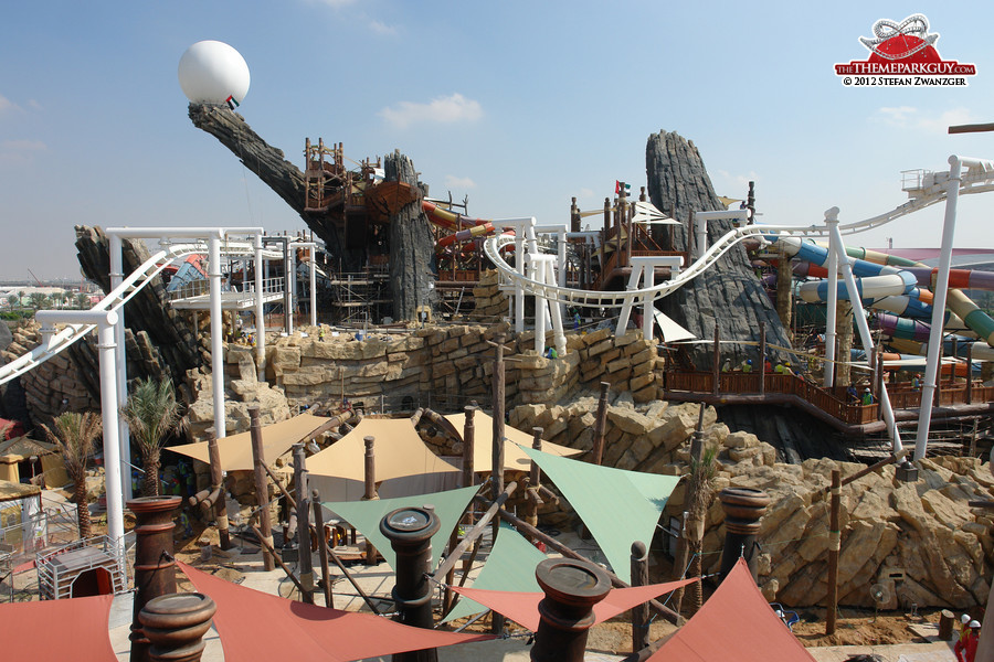 Yas Waterworld vista, December 4, 2012
