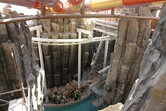 Here's slides, caves, coaster and lazy river on top of each other