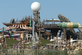 Yas Waterworld's quality of theming is top-notch!