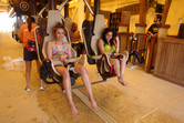 Arabic women on coaster