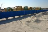 Slide embryos behind the desert fence