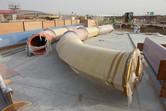 Slide parts (still) resting on the ground