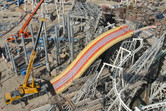 A symphony of steel, slides and tracks!