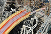 Probably the highest thrill ride density on the planet!