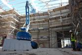 Abu Dhabi water park souq under construction