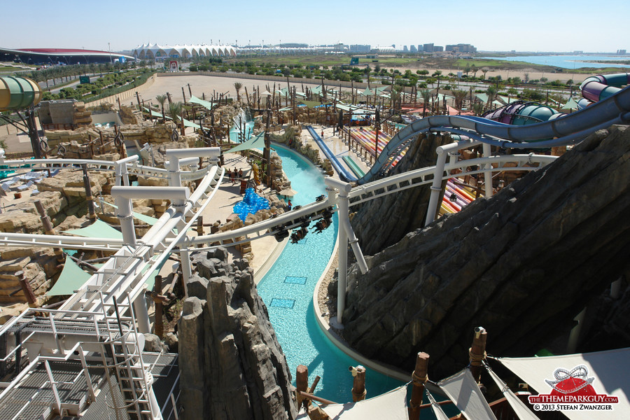 Yas Waterworld scenery
